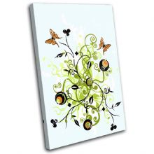 Abstract Butterfly Illustration - 13-2023(00B)-SG32-PO